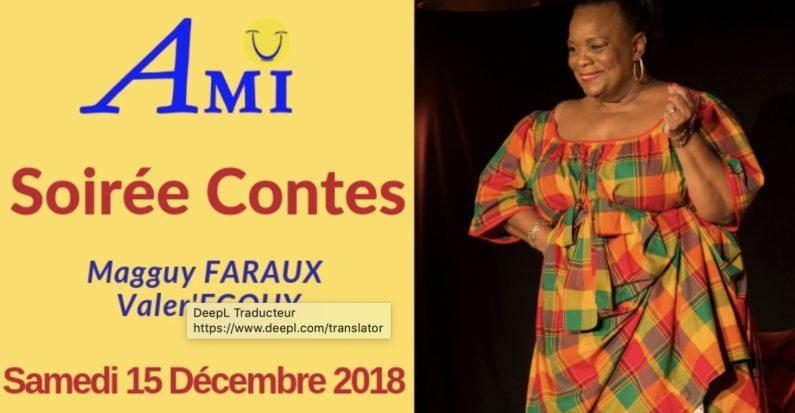 Samedi 15 décembre à 19h00 Soirée Contes